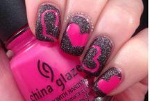 nails!!!♥♡♥