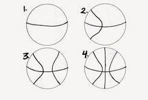 Sporty basket míč