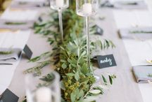 * An Organic Wedding * / Natural, organic, earthy wedding style