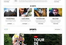 Curated: grid layout