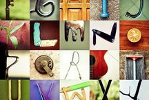 objects alphabet inspiration / by Nataschia Zijlstra