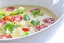 Raw soup