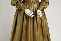 Victorian clothes 1830's