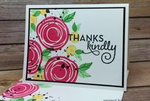 Stampin' Up! Swirly Bird / Swirly Bird Bundle is super versatile....so many different looks, occasions, colors, etc.  Probably my favorite bundle in the 2016-2017 Stampin' Up! Catalog