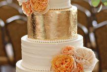 Wedding Cake Ideas / beautiful wedding cake ideas <3