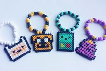 Perler Beads! / perler bead ideas, perler bead patterns, perler beads inspiration, kawaii perler bead ideas.
