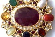 Indian Navratna Jewellery / Today Navaratna Jewelry is getting famous because of its  astrological benefits. you are getting to best supplier of Navaratan jewellery with best Items like  Rings, Pendant, Bracelets and Necklace, at best price.