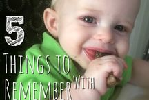 Baby Led Weaning / Everything you need to know when starting your baby on solid food.