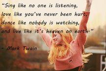 wise little words...