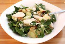 Šaláty a zdravé jedlá