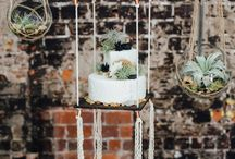 Suspension wedding cake