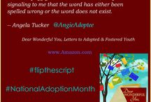 #flipthescript / Lost Daughters is going to #flipthescript for #NationalAdoptionMonth