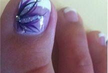 дизайн ногтей на ногах