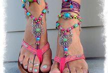 gypsy barefoot summer sandals