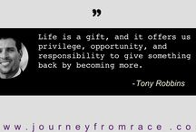 Inspirational Blogs on Journey From Race