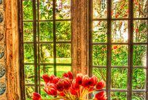 Through Yon Window / What light through yon window breaks... / by Cheryl Hudson