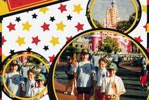 Disney Trip Scrapbook Ideas