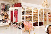 Os closets mais bem decorados - das famosas!