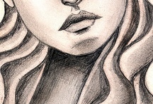 Visage crayon
