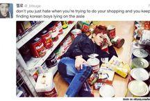 Funny Pics of BTS xD