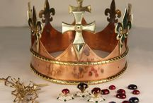 Richard III funeral crown / Making of and finished crown for Richard III