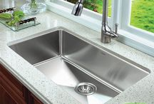 Contemporary Impact / Contemporary kitchen sink design to fit every lifestyle.