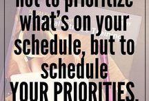 Productivity Hacks / Productivity tips for moms, WAHM's, and SAHM's.