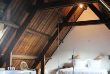 Chambres avec charpentes
