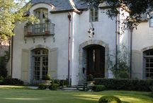 French Country / Home designs, interiors, furnishings, art, gardens.