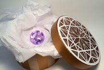Artistcellar Diamonds Series Stencils / Artwork made with Diamonds Series Stencils by Artistcellar