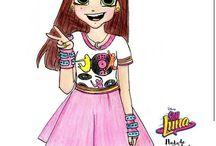 Soy Luna Tegninger