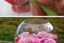 centros de mesa y flores