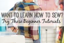 Sewing Tutorials / How to sew, tutorials and sewing tips from beginner to advanced