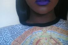 Lip Services / Bold color lipsticks on black women