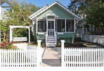 b e a c h . c o t t a g e / my dream home will be near the beach one day / by Debi Spillan