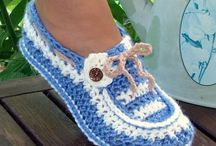 Slippers crochet
