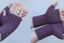 rukavice bez prstů