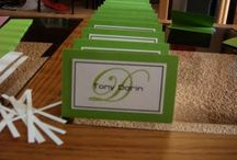 placecards/escort cards / by Carol Powell