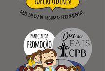 Dia dos Pais CPB - 2014 / Participe da promoção Dia dos Pais CPB em nossa loja virtual www.cpb.com.br