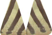 Zebra Rock Gemstone Beads