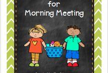 Morning meetings / by Katie Horton