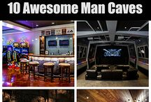 Mancave Madness / Dream rooms for Dads!
