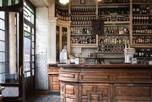 The Station House - Style images / food / cafe counter display ideas