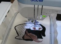 MACHINE EMBROIDERY SEWING