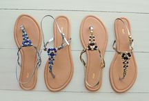 Summery Sandals / Some beads, some bling and some floral motifs... check our range of summery stylish sandals / by Max Fashion India