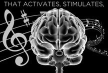 Music /  One of the only activities that activates, stimulates and USES the ENTIRE brain is MUSIC. / by Haidra Lira