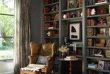Ballroom bookcase