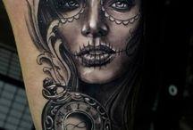 Day of the dead girl Tattoo inspo