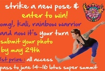 Strike A Pose Contest! / We want to see your yoga pose creations! Submit your photo by May 29th!