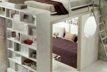 Decored bedroom + office
